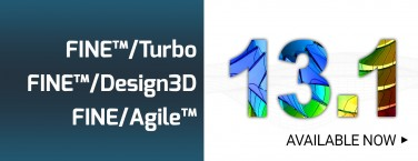 The new version of FINE™/Turbo, FINE™/Design3D & FINE/Agile™ is out!