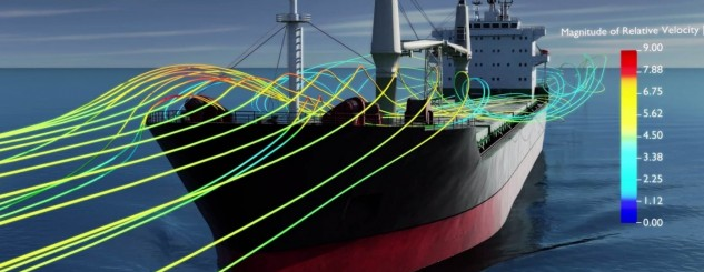 CFD Wind Study for Ship Superstructures