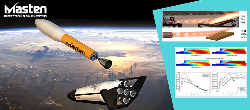Masten Space Systems is using NUMECA for the design and analysis of reusable spacecraft and lunar vehicles