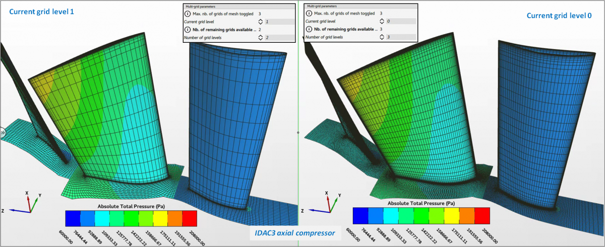 Course CFD grid simulation with Omnis Turbo